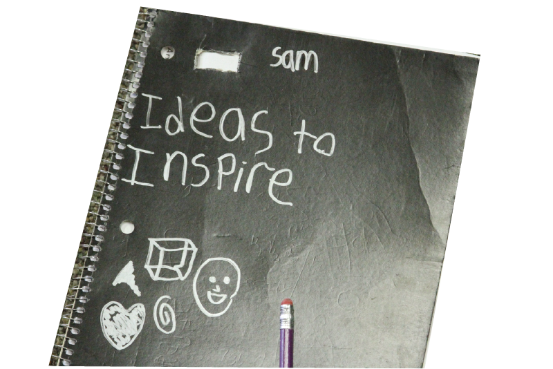 Ideas to Inspire notebook